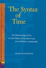 The Syntax of Time - Peter Manchester (ISBN 9789004147126)