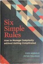 Six Simple Rules - Yves Morieux (ISBN 9781422190555)