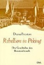 Rebellion in Peking - Diana Preston (ISBN 9783421054074)