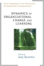 Dynamics of Organizational Change and Learning - Jaap Boonstra (ISBN 9780471877370)