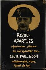 Boon apartjes - Louis Paul Boon, Gerd de Ley