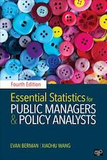 Essential Statistics for Public Managers and Policy Analysts - Evan M. Berman, Xiaohu Wang (ISBN 9781506364315)