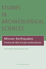 Minoan Earthquakes (ISBN 9789461662187)