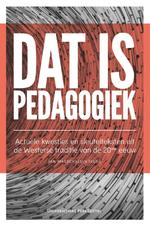 Dat is pedagogiek - Jan Masschelein (ISBN 9789462701496)