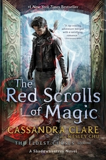 Shadowhunters (01): the red scrolls of magic - Cassandra Clare (ISBN 9781471195112)