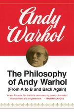 The Philosophy of Andy Warhol - Andy Warhol (ISBN 9780156717205)