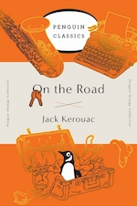 Penguin orange collection On the road