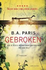 Gebroken - B.A. Paris (ISBN 9789026342493)