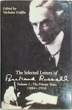 The Selected Letters of Bertrand Russell: The private years, 1884-1914 - Bertrand Russell (ISBN 9780713990232)