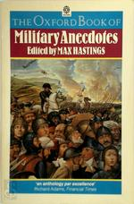 The Oxford Book of Military Anecdotes - Max Hastings (ISBN 9780192141743)