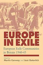 Europe in Exile - Martin Conway, José Gotovitch (ISBN 9781571815033)