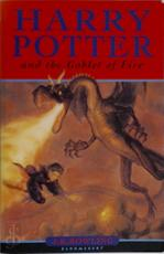 Harry Potter and the goblet of fire - J. K. Rowling (ISBN 9780747550990)