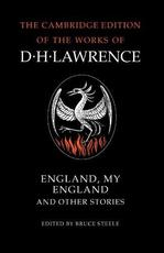 England, My England and Other Stories - D. H. Lawrence (ISBN 9780521358149)