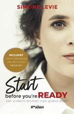 Start before you're ready - Simone Levie (ISBN 9789046824801)