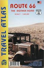 Route 66 Travel Atlas 1 : 1 840 000