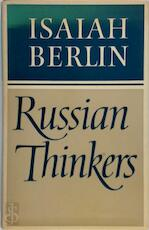 Russian Thinkers - Isaiah Berlin (ISBN 9780701204389)