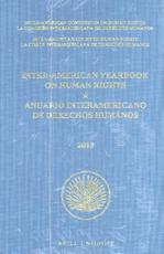 Inter-American Yearbook on Human Rights / Anuario Interamericano de Derechos (ISBN 9789004302020)