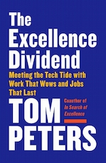Excellence dividend - thomas j. peters (ISBN 9780525434627)