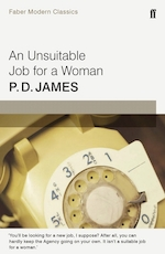 Unsuitable job for a woman (faber modern classics) - p. d. james (ISBN 9780571323166)