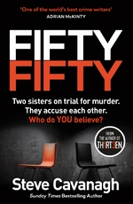 Fifty-fifty - Steve Cavanagh (ISBN 9781409185864)