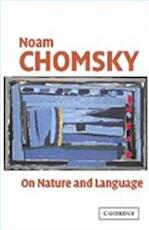 On Nature and Language - Adriana; Rizzi, Luigi Noam; Belletti Chomsky (ISBN 9780521016247)