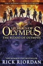 Heroes of Olympus 05. The Blood of Olympus - Rick Riordan (ISBN 9780141339252)