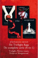 De twilight Saga - De complete serie (4-in-1) - Stephenie Meyer (ISBN 9789000347100)