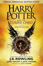 Harry Potter and the Cursed Child - j. k. rowling (ISBN 9780751565355)