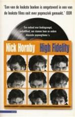 High fidelity - Nick Hornby (ISBN 9789045005263)