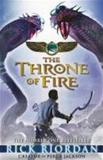 Kane Chronicles : Throne Of Fire - Rick Riordan (ISBN 9780141335667)