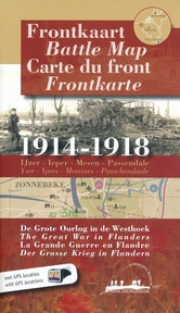 Frontkaart / battle map / carte du front / frontkarte - P. Konings, F. Bostyn (ISBN 9789078131045)