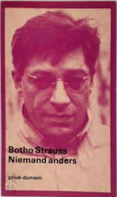 Niemand anders - Botho Strauss (ISBN 9789029547123)