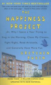 The Happiness Project - Gretchen Rubin (ISBN 9780062467348)