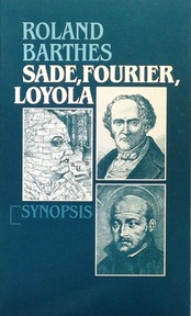 Sade, Fourier, Loyola - Roland Barthes (ISBN 9789029501187)