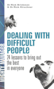 Dealing with Difficult People - Rick Brinkman, Rick Kirschner (ISBN 9780077116200)