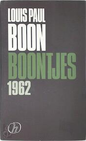 Boontjes 1962 - L.P. Boon (ISBN 9789052401034)