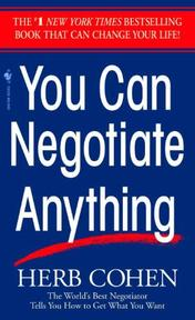 You can negotiate anything - Herb Cohen (ISBN 9780553281095)
