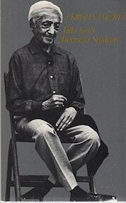 Talks with American Students, 1968 - Jiddu Krishnamurti (ISBN 9780877730217)
