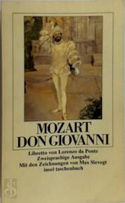 Don Giovanni - Wolfgang Amadeus Mozart (ISBN 3458327096)