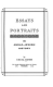 Essays and Portraits in Anglo-Jewish History - Cecil Roth