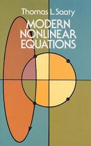 Modern Nonlinear Equations - Thomas L. Saaty (ISBN 9780486642321)
