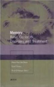 Memory - Unknown (ISBN 9789033448966)