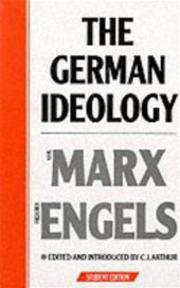 German Ideology - C J Arthur (ISBN 9780853152170)