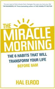 Miracle Morning - Hal Elrod (ISBN 9781473632158)