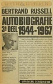 Autobiografie - B.[A.W.] Russell, L. Coutinho (ISBN 9789023415268)