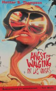 Angst en walging in Las Vegas - Hunter S. Thompson (ISBN 9789041403315)