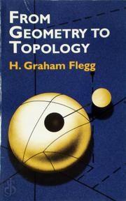 From Geometry to Topology - Graham Flegg, H. Graham Flegg (ISBN 9780486419619)