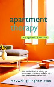 Apartment Therapy - Maxwell Gillingham-ryan (ISBN 9780553383126)
