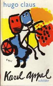 Karel Appel schilder - Hugo Claus