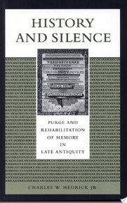 History and Silence - Charles W. Hedrick (ISBN 9780292731219)